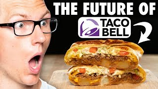 Taco Bell Deep Fried Crunchwrap Taste Test | FUTURE FAST FOOD
