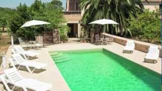 preview picture of video 'Central Mallorca Vacation Rental. Picturesque remodeled country house. Free WiFi'