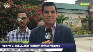 Venezuela - Foro Penal Carabobo exige justicia para víctimas de la represión - VPItv