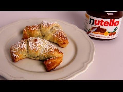 Nutella Croissants Recipe – Laura Vitale – Laura in the Kitchen Episode 328