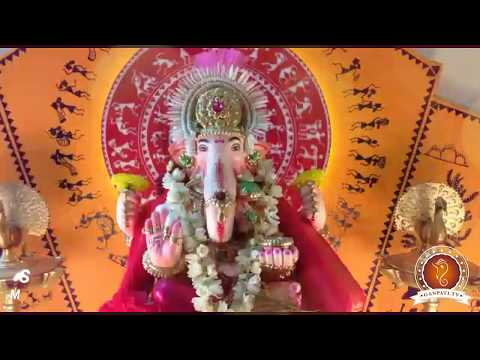 Siddhant Pitale Home Ganpati Decoration Video