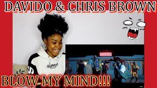 Davido, Chris Brown   Blow My Mind (Official Video)   REACTION!💥