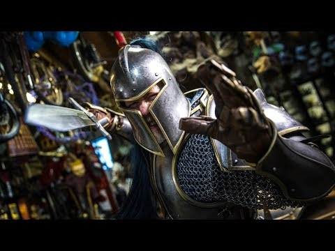 Adam Savage buys a full set of Armor from the Warcraft movie