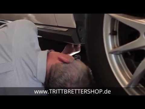 Trittbretter Einbauanleitung Montagevideo Selbstmontage