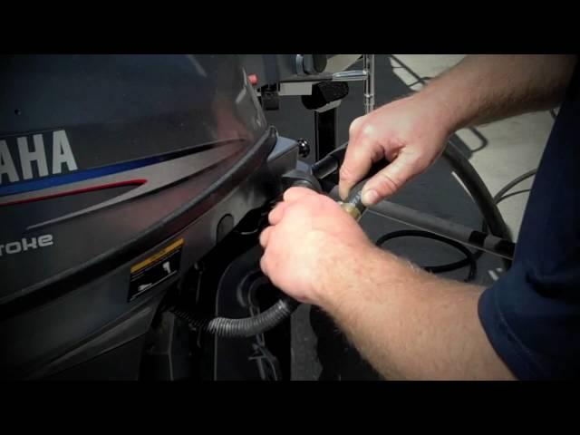 Yamaha Boating Tip - Freshwater Flush