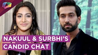 Nakuul Mehta And Surbhi chandna On Ishqbaaaz Going Off Air & More | Exclusive
