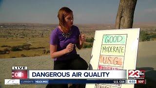 Bad air quality prompts schools to keep kids indoors