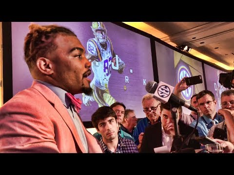 Derrius Guice on why Alabama defense was scared against LSU