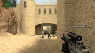 Counter Strike Source Gameplay de_dust2