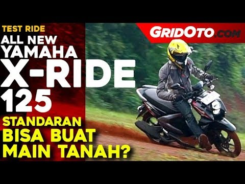 Yamaha X-Ride 125 l Test Ride Review l GridOto