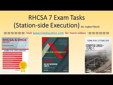 RHCSA 7 LAB Station Execution [RHCSA Exam Tasks] (2 of 2 ...
