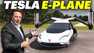 Elon Musk INTRODUCES Tesla's First Flying Vehicle!