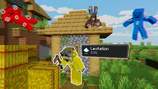 Minecraft Manhunt, but when I crouch the Hunters get LEVITATION