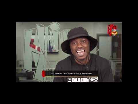 VECTOR SPEAKS ON STREET CULTURE, HIPHOP AND RAP