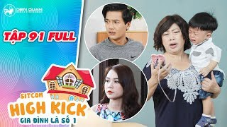 Gia đình là số 1 sitcom | tập 91 full: Bà Bé Năm hoảng loạn vì không tìm thấy Đức Phúc, Kim Chi