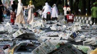 Jemaah Tinggalkan Lokasi saat Khotbah Idul Adha, Netter: Khutbah atau Kampanye?