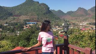 preview picture of video 'Lashio  #Highlander Restaurant  view'