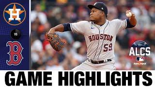 Astros vs. Red Sox ALCS Game 5 Highlights (10/20/21) | MLB Highlights