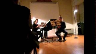 Felix Mendelssohn. Konzertstück n°1 op.113 for Clarinet,Bassoon and Piano