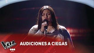 "Natalia Belén - ""Someone Like You"" - Adele - Audiciones a ciegas - La Voz Argentina 2018"