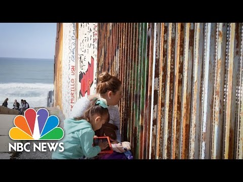 Families Reunite At U.S.-Mexico Border At Friendship Park | NBC News