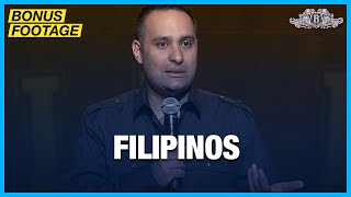 Filipinos | Russell Peters - Red, White, and Brown Tour