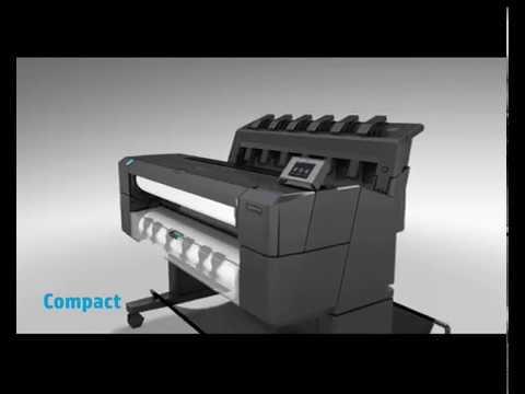 """HP DesignJet T1530 36"""" A0 Dual Roll Plotter"""