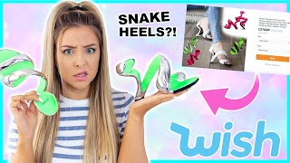 I Spent £200 On The Strangest Fashion Items From Wish, Ebay And Shein ! Success Or Disaster !