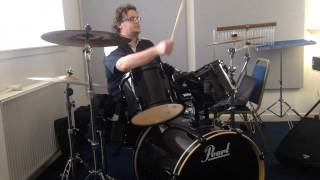 Shayne Ward - 2nd Audition - Fake - Drum Kit - Jamie Millar