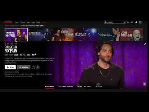 The joke Netflix chose to tease Chris D'Elia's latest special.