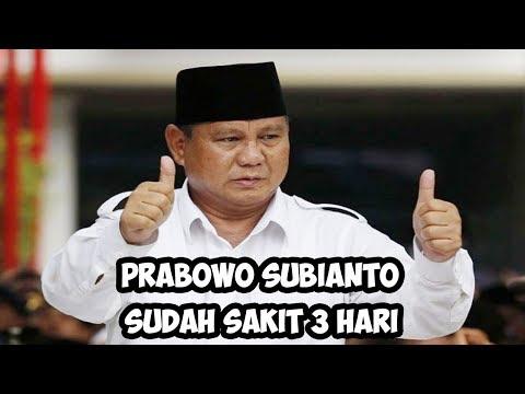 BERITA TERKINI  Prabowo Subianto Sudah Sakit 3 Hari, Gemetar Saat Sebut Menteri Pencetak Utang