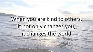 Be Kind *LIFE-CHANGING* - Motivational Quotes About KINDNESS
