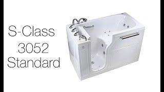 S-Class3052 Standard Threshold Walk-In Tub Video