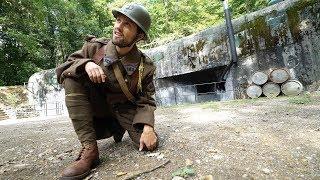 24h dans la peau d'un soldat de la 2nd Guerre mondiale 