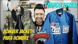 Bomber Jackets Que Debes Tener | Bomber Jacket Para Hombre | Xelbor