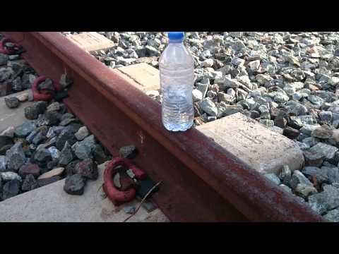 Scoppio bomba con acido muriatico e alluminio