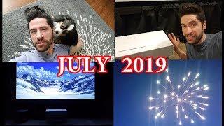 July 2019 - Journal/Vlog