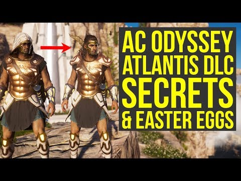 Assassin's Creed Odyssey Atlantis DLC SECRETS & Things You Have Missed (AC Odyssey Atlantis DLC)