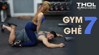 GYM GHẺ 7   Tập gym xỉu được gái đẹp massage hô hấp nhân tạo cực phê