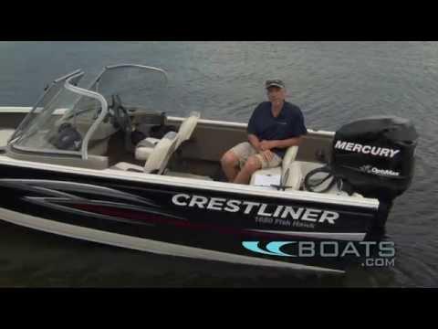 Crestliner 1650 Fish Hawk Aluminum Fishing Boat Review / Performance Test