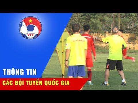 U23 Việt Nam tập chiến thuật, cải thiện khả năng dứt điểm để hướng tới giải M-150 Cup