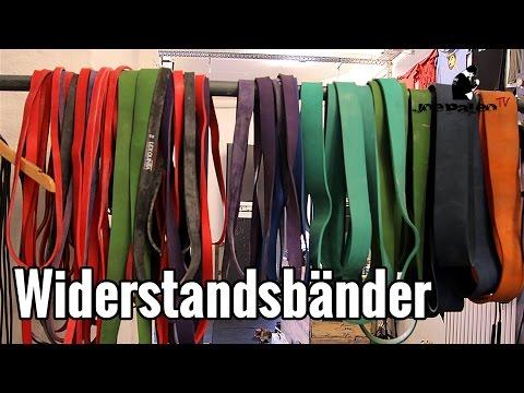 Widerstandsbänder | Verwendung, Unterschiede und Nutzen!