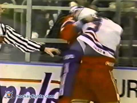 Joey Kocur vs. Donald Brashear