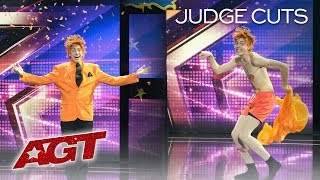 The Orange Magician Will Leave With Two Words: It's Good! - America's Got Talent 2019