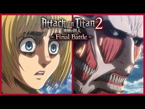 Attack on Titan 2: Final Battle - Armin's Colossal Titan Gameplay Trailer (2019)