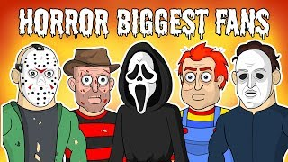 HORROR Movies BIGGEST FANS (Halloween Special)