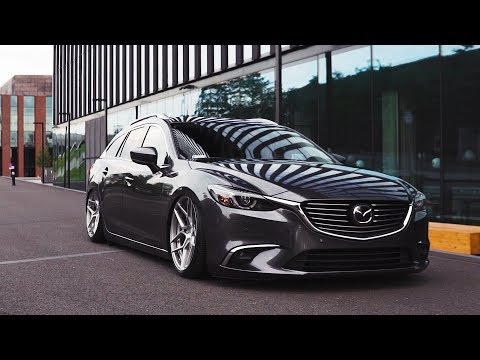 Mazda 6 Wagon / Kombi - bagged by airRIDE-System.pl