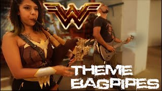 Wonder Woman Theme Bagpipe Cover | Metal Version | The Snake Charmer