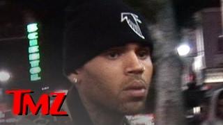 Chris Brown -- Heckled by N-Bombs & Gang Threats! | TMZ