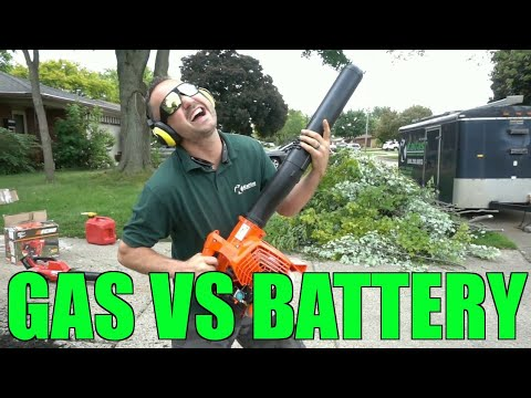 Gas vs Battery Operated Handheld Blower – Lawn Care & Landscaping – Review